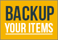 Backup Your Items Q&A