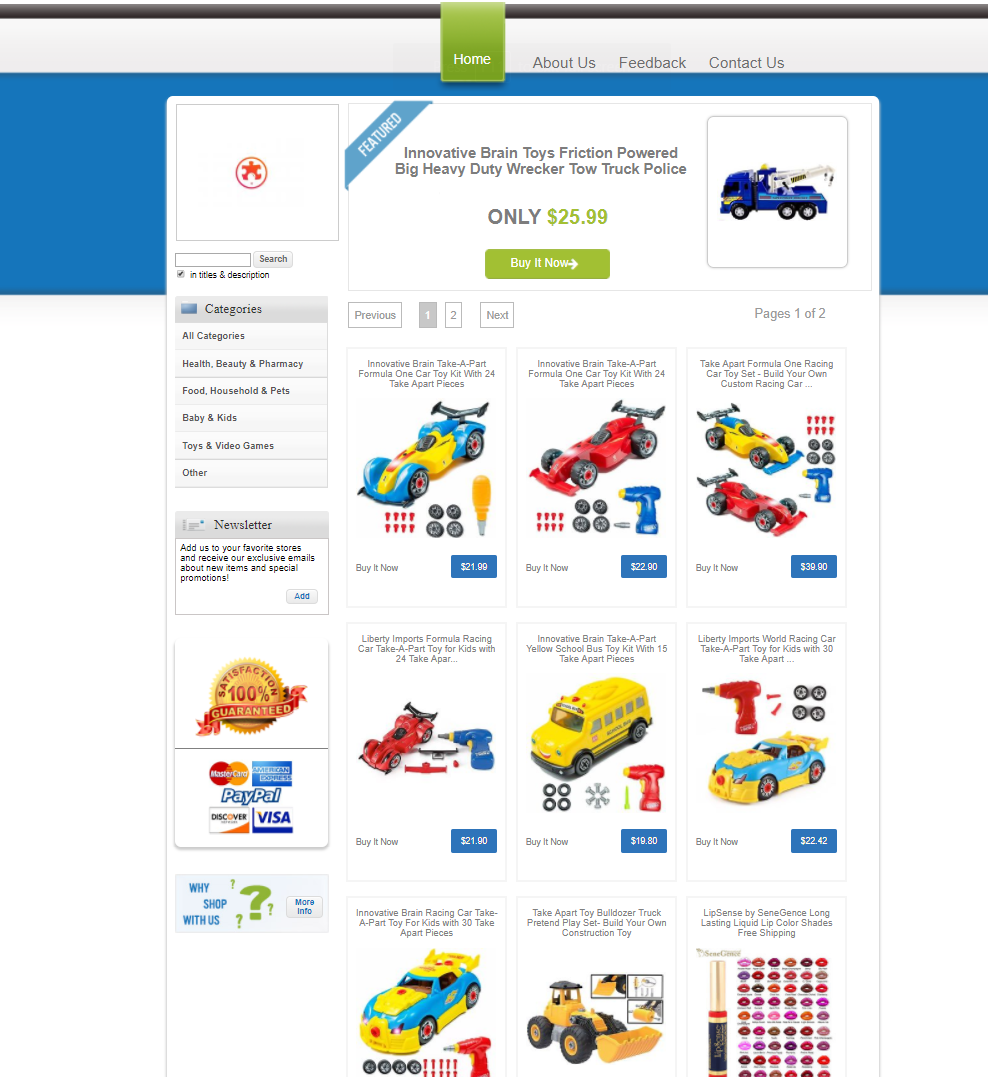 Our Users eBay Stores eBay Store DesignerDesignet eBay Store Designer Designed